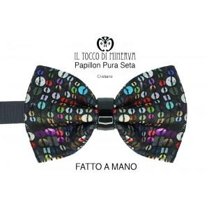 Papillon Man Christian silk high fashion fabric - Handmade