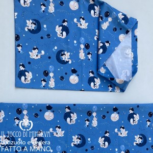 Little Prince Cotton Baby Sheet with Pillowcase - Handmade