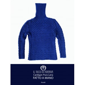 Ronald Blue Pure Wool Men's Sweater - Handmade