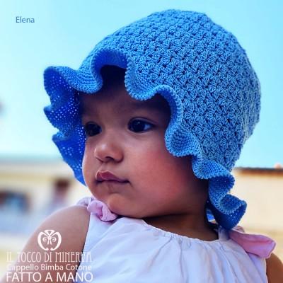 Handmade Cotton Hat Elena