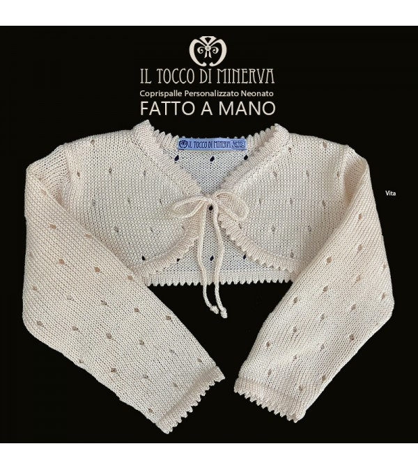 Newborn Cotton Waist Shawl - Handmade