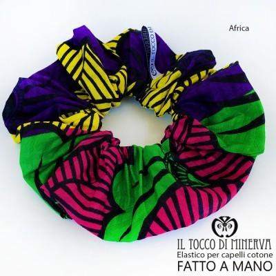 Africa cotton hair elastic - Handmade