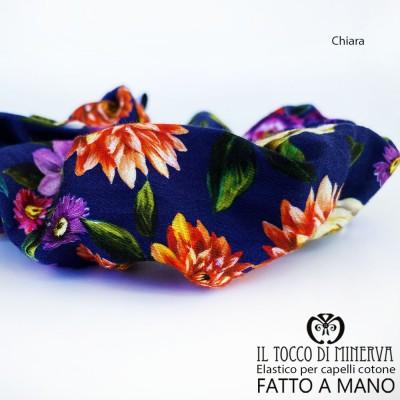 Chiara cotton hair elastic - Handmade