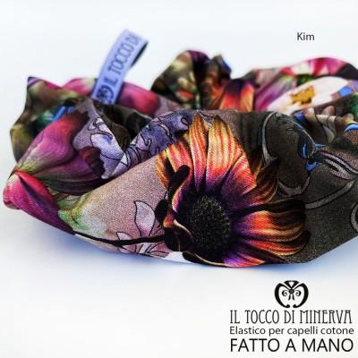 Cotton hair elastic kim - Made by hand