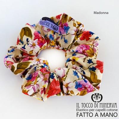 Cotton elastic hair band - Handmade