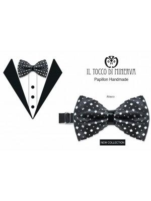 Impara la pronuncia Papillon Man Abaco faux leather high fashion fabric Bridegroom Line - Handmade