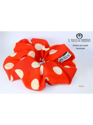 Aitana silk hair elastic - Handmade