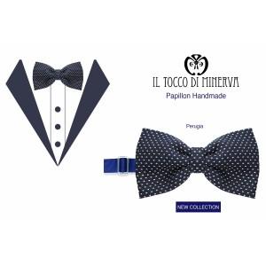 Papillon Man Perugia high fashion fabric - Handmade