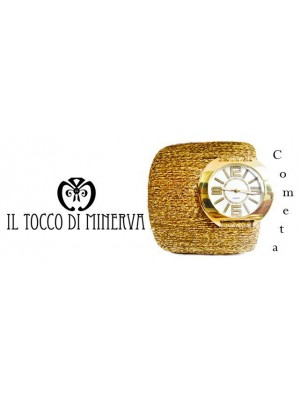 Cometa Luxury Gold Watch Handmade