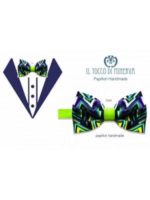 Men's Clark Bow Tie High Fashion Fabric - Hand Made