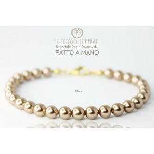 Swarovski Pearls Bracelet Chiara Tortora - Handmade