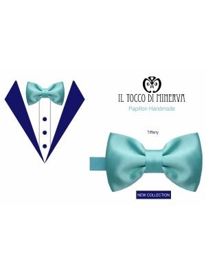 Papillon Tiffany silk bow tie Handmade - Handmade