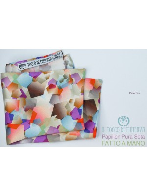 Palermo silk clutch bag Handmade - Handmade