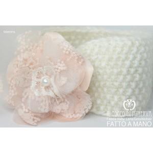 Valentina Head Band in Wool - handmade - HandMade