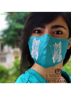 Washable anti-dust mask form two will be all right tiffany butterfly