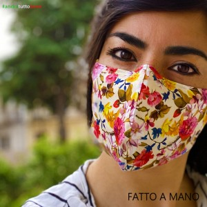Washable anti-dust mask adult flower cream will be all right