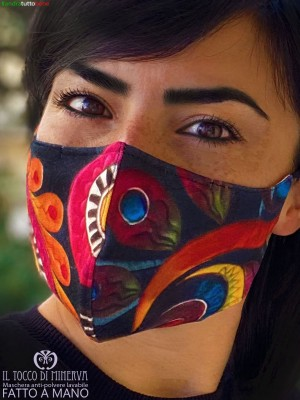 Multi-colored bamboo mask form 2 anti-dust washable will be all right