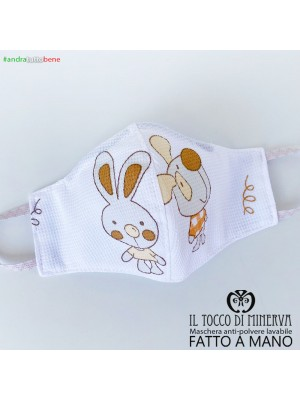 Form 2 anti-dust washable mask will be fine dog rabbit six seven years