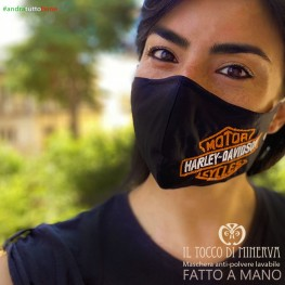Form 2 anti-dust washable mask will be all right harley davidson