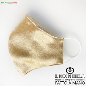 Form 2 Washable Dust Mask Will Be All Right Platinum Silk Ceremony - Handcrafted