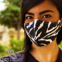 Mask form 2 washable anti-dust pocket will be all well striped