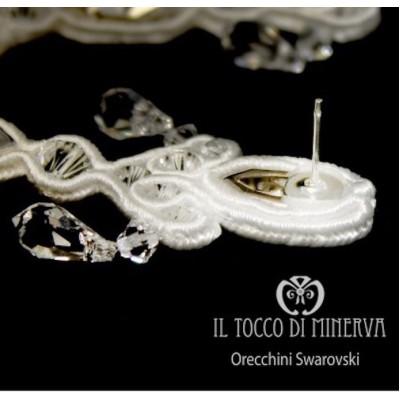 Swarovski Michelle Earrings Handmade Bridal Line
