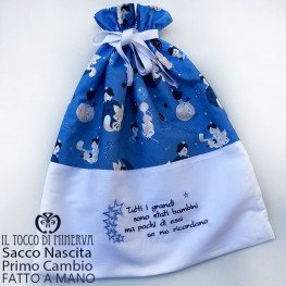 First Change Cotton Baby Bag The Little Prince 50x45 - Handmade
